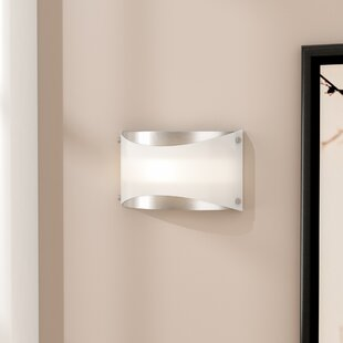 Read Reviews Penndel 1-Light Wall Sconce By Latitude Run