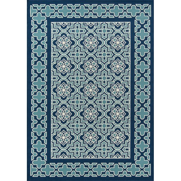 Craine Blue Indoor/Outdoor Area Rug by Charlton Home