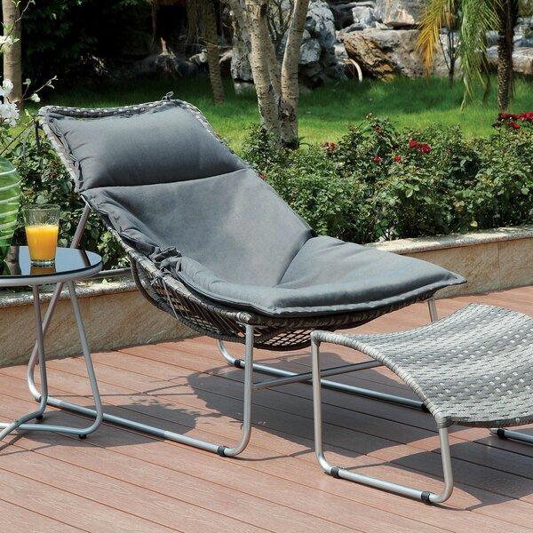 Bastien Patio Chair with Cushion by Latitude Run