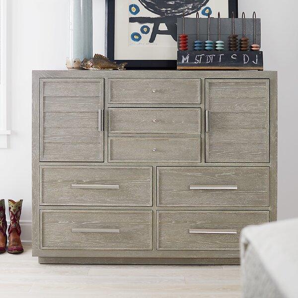Rimini 6 Drawer Combo Dresser by Gracie Oaks