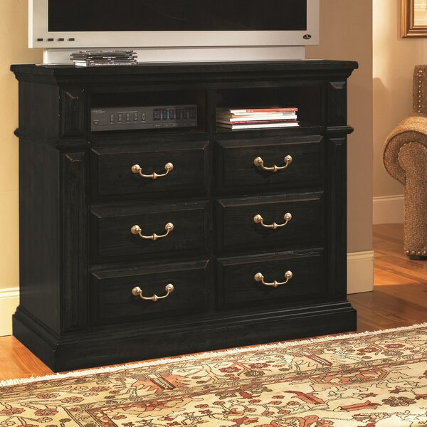Newark 6 Drawer Media Chest By Fleur De Lis Living