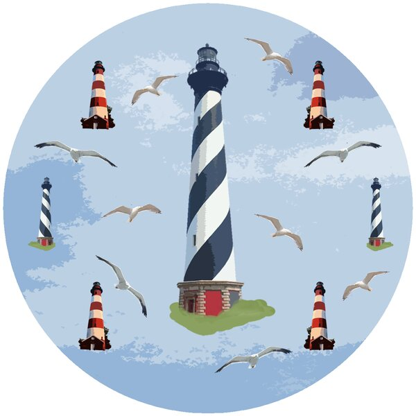 Lighthouse Trivet by Andreas Silicone Trivets
