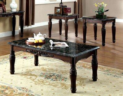 Arcadia 3 Piece Coffee Table Set By Astoria Grand