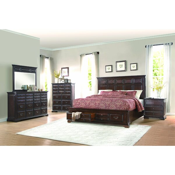 Plumcreek Upholstered Storage Sleigh Bed by Darby Home Co