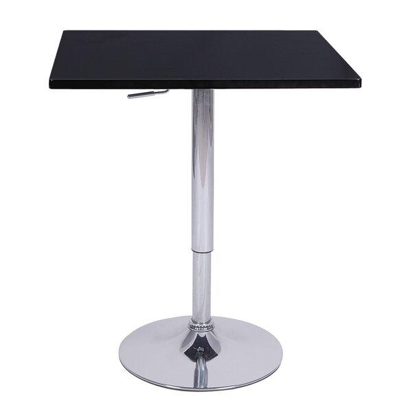 Zeta Adjustable Height Pub Table by Ebern Designs Ebern Designs