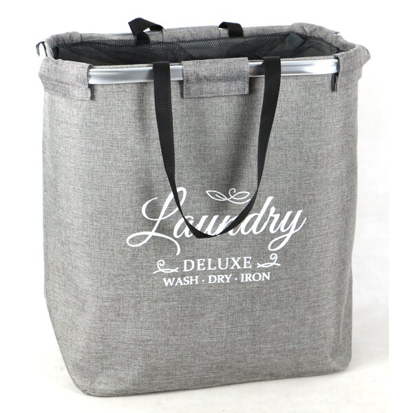 Premium Portable Laundry Hamper by Winston Porter