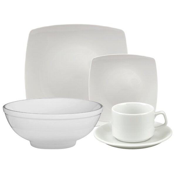 Brick 20 Piece Dinnerware Set, Service for 4 by Alcott Hill