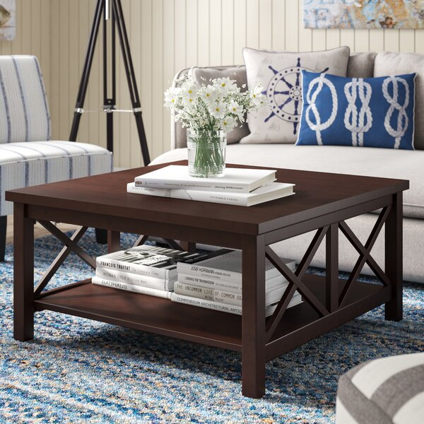 Enfield Coffee Table With Storage By Breakwater Bay