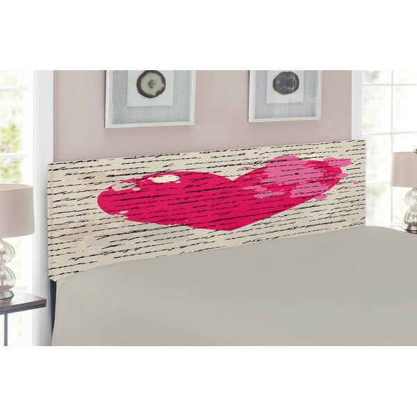 Love Upholstered Panel Headboard by East Urban Home