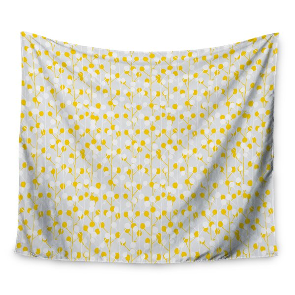Lemon Drop by Julie Hamilton Wall Tapestry by East Urban Home
