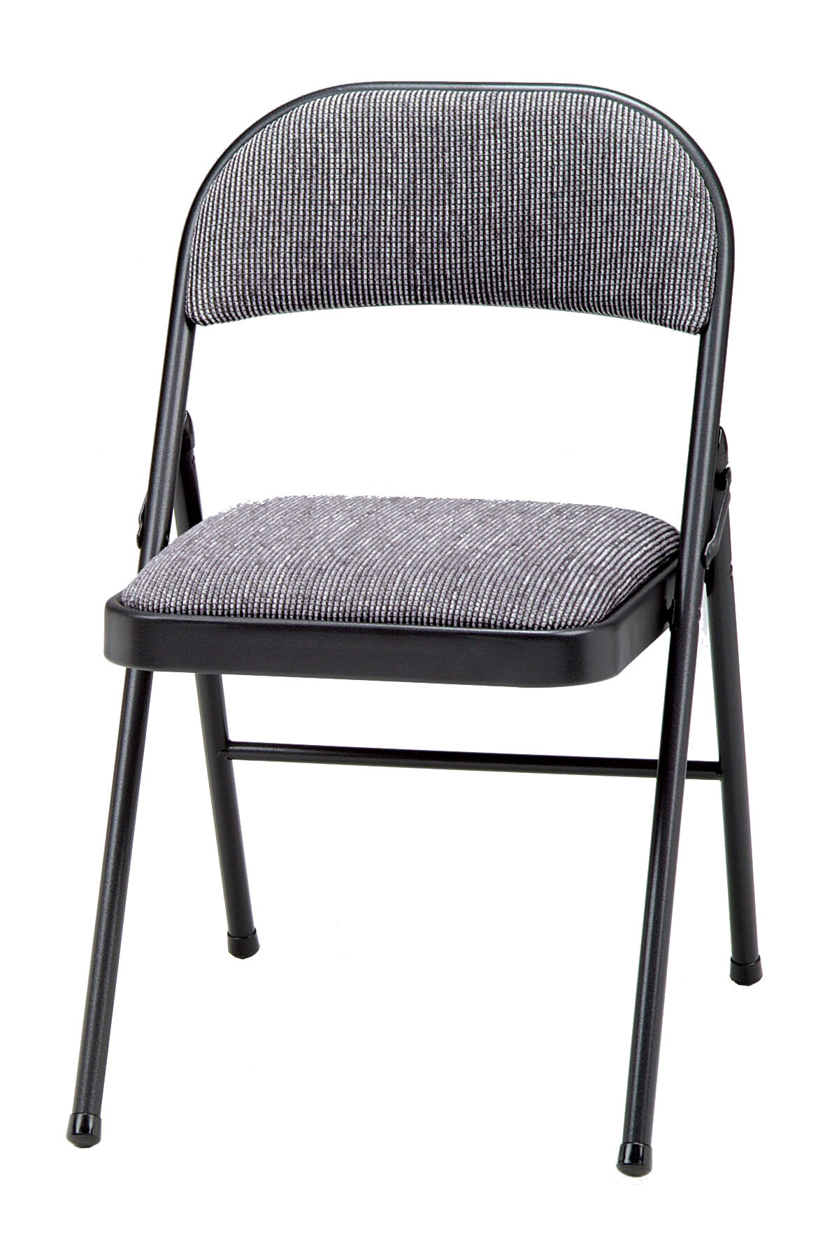 Super Meco Deluxe Fabric Padded Folding Chair Reviews Wayfair Dailytribune Chair Design For Home Dailytribuneorg