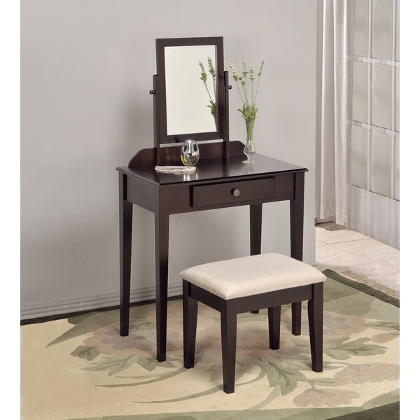 Buster Vanity Set with Mirror by Andover Mills Andover Mills