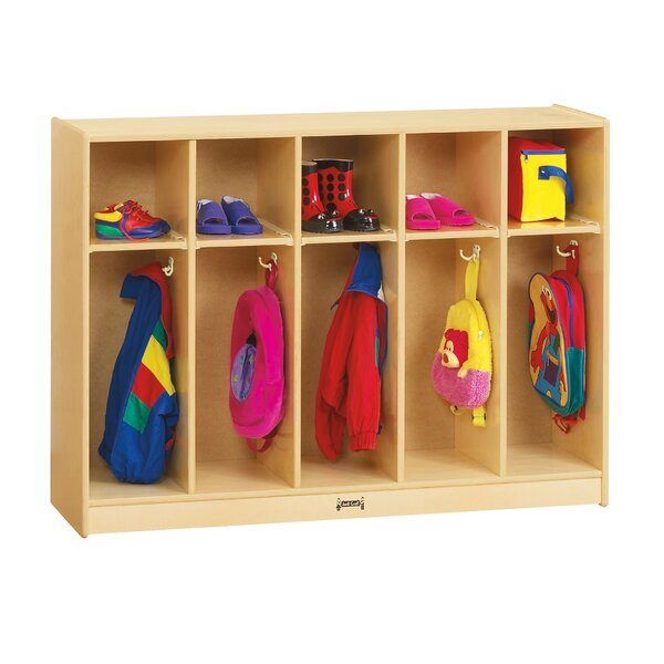 1 Tier 5 Wide Coat Locker by Jonti-Craft