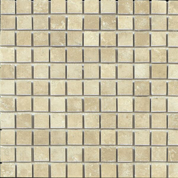1 x 1 Travertine Mosaic Tile in Beige by Epoch Architectural Surfaces