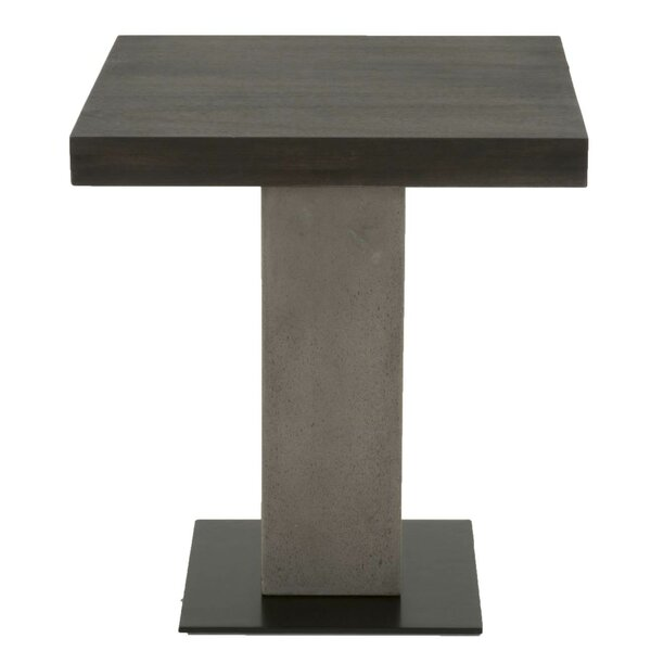 Emily Pedestal End Table by Foundry Select Foundry Select