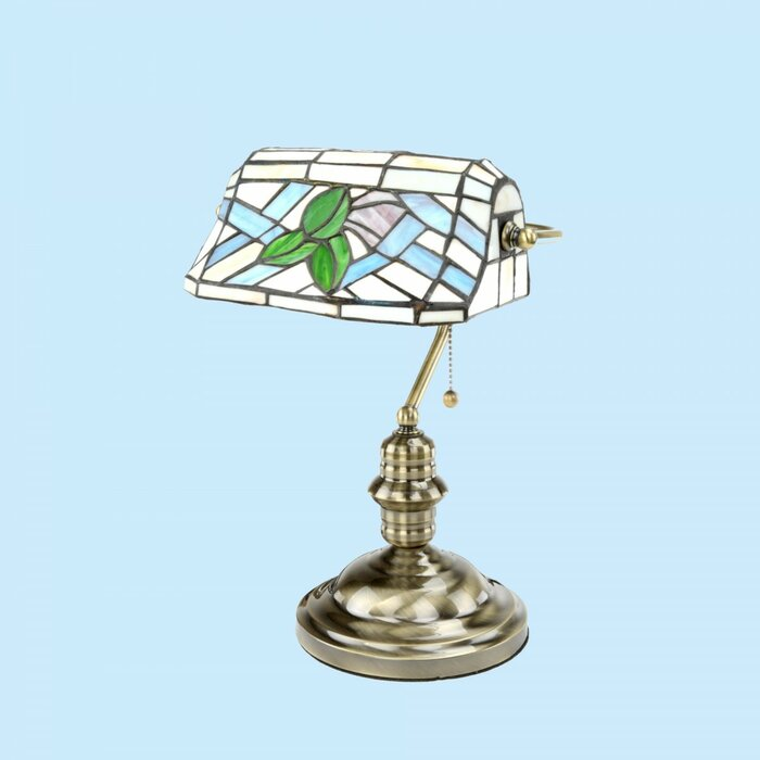 Bankers Lamp Blue