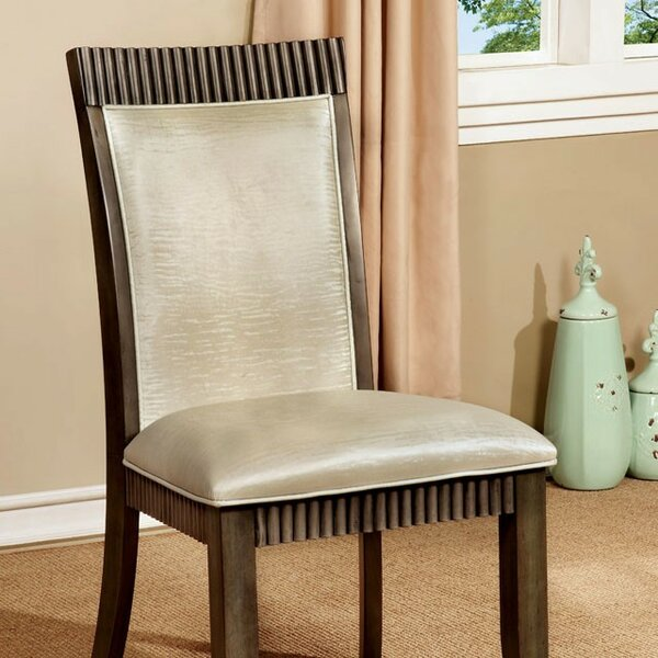 Pond Upholstered Dining Chair (Set of 4) by Darby Home Co