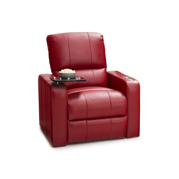 Monteith Leather Power Wall Hugger Recliner By Latitude Run
