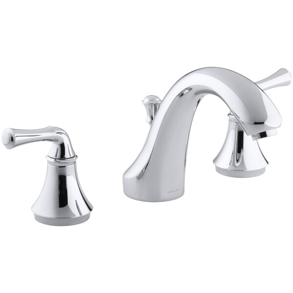 Forté Traditional Deck-Mount Bath Faucet Trim for High-Flow Valve with Diverter Spout, Valve Not Included by Kohler