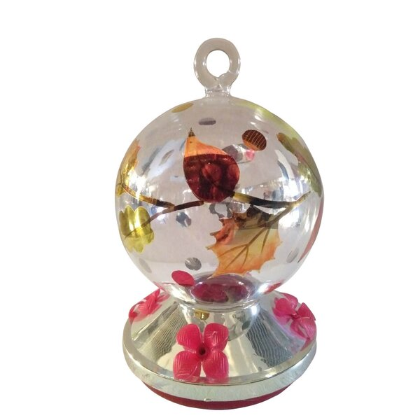 Hand Painted Decorative Bird Feeder by Creative Motion
