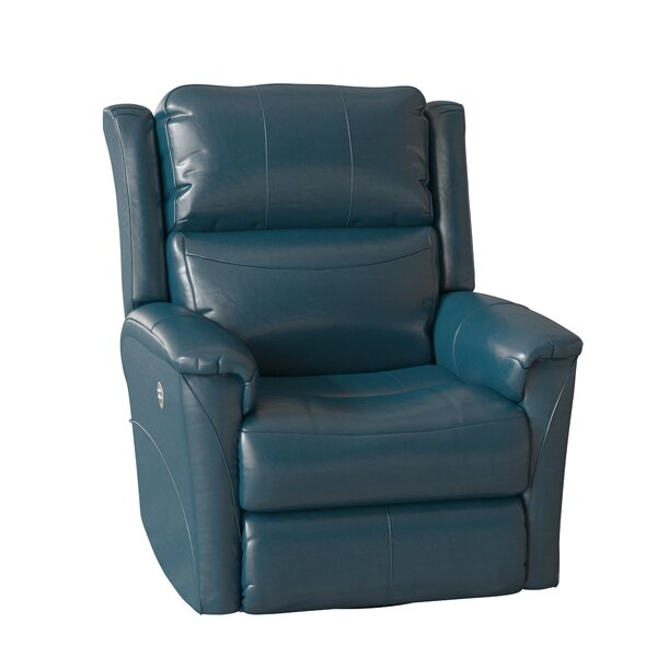 Shimmer Leather Recliner by Southern Motion Southern Motion