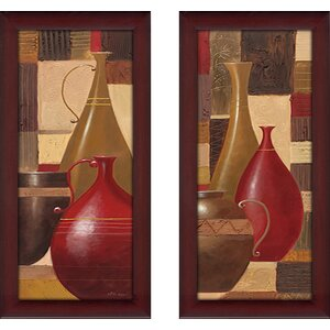 'World Spice I' 2 Piece Framed Print Set by Red Barrel Studio