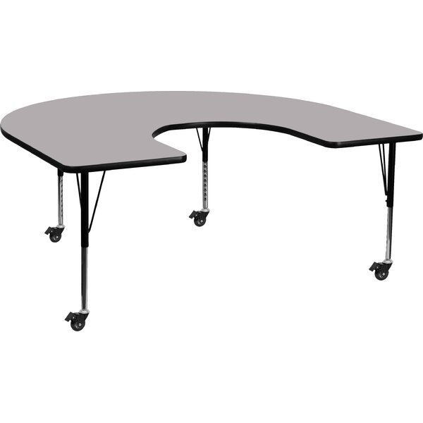 66 x 60 Kidney Activity Table by Flash Furniture