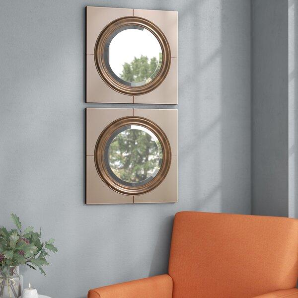 Croydon Contemporary Wall Mirror by Wade Logan