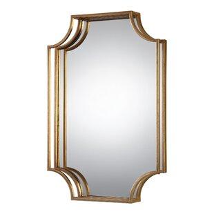 Willa Arlo Interiors Vansickle Metal Accent Wall Mirror
