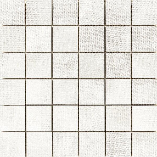 Facade 2 x 2 Porcelain Mosaic Tile in White by Emser Tile