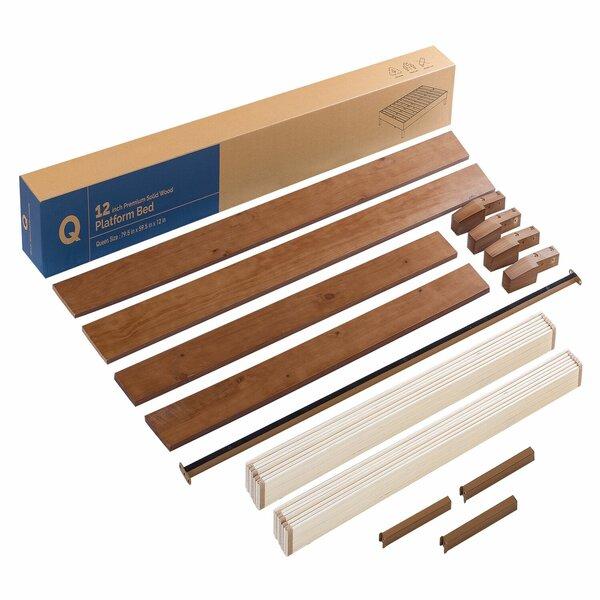 Harney Solid Wood Low Profile Platform Bed Frame by Red Barrel Studio Red Barrel Studio