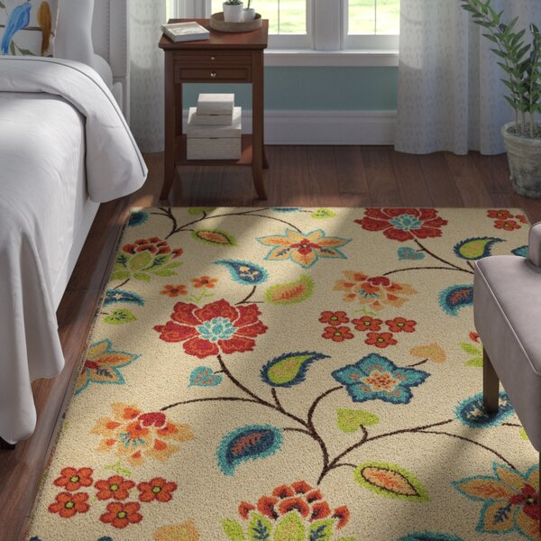 Thirsk Ivory Indoor Area Rug by Andover Mills
