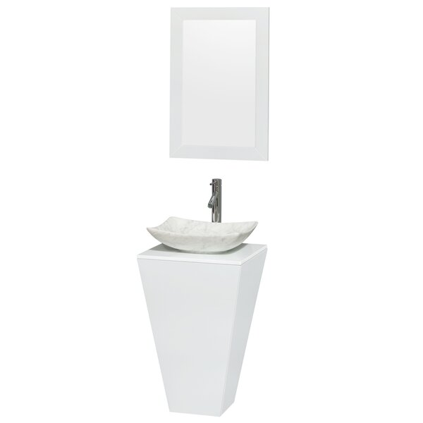 Esprit 18 Pedestal Bathroom Sink