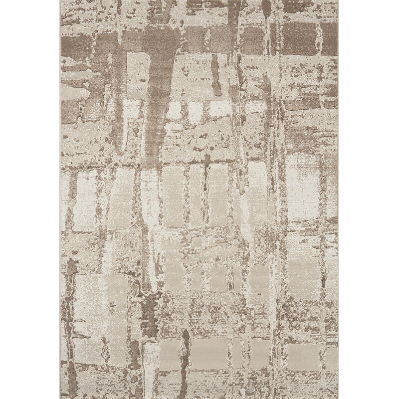 17 Stories Candace Beige Area Rug Wayfair
