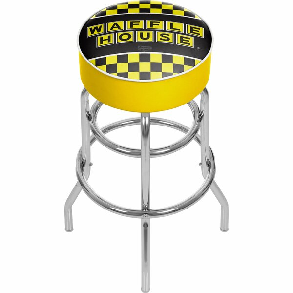 Waffle House 31 Swivel Bar Stool by Trademark Global