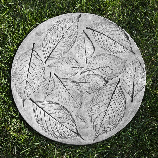 Hydrangea Leaf Stepping Stone by Campania International