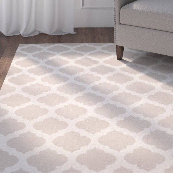 Willow Hand-Woven Gray/Ivory Area Rug by Charlton Home