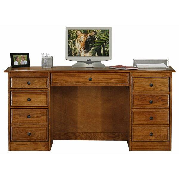 Lapierre Double Pedestal Executive Desk by Loon Peak