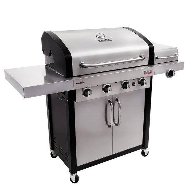 Signature TRU-InfraRed 4-Burner Propane Gas Grill with Cabinet by Char-Broil