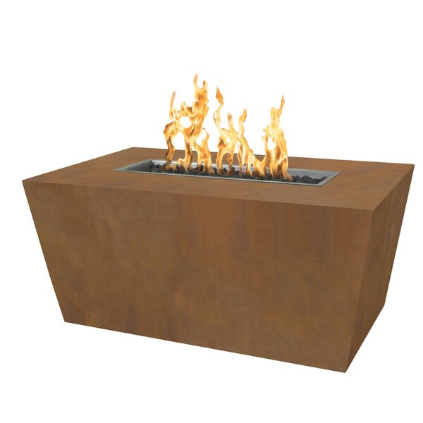 Mesa Steel Fire Pit Table by The Outdoor Plus