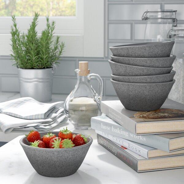 Seth Glaze Cereal Bowl (Set of 6) by Mint Pantry