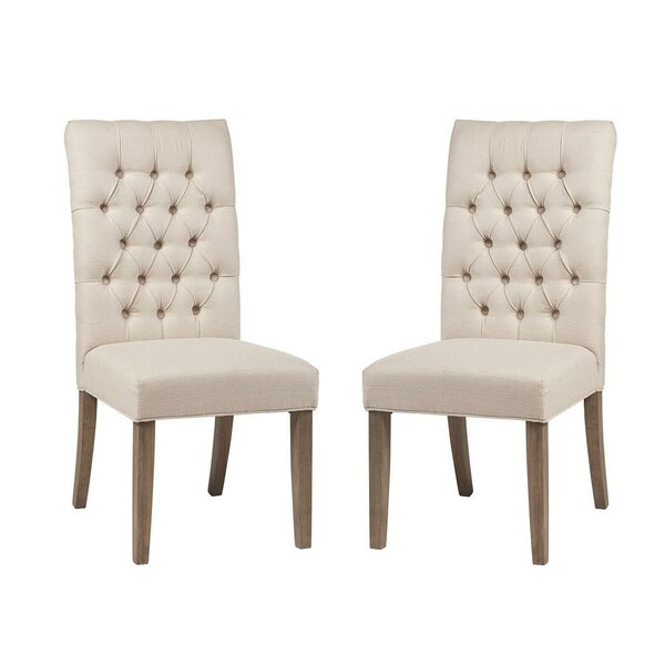 Belew Upholstered Dining Chair (Set Of 2) By Ophelia & Co.