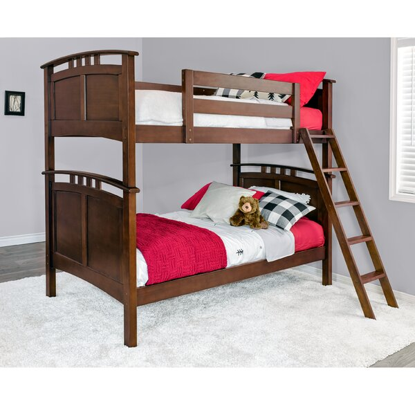 Egger Twin over Twin Bunk Bed by Harriet Bee