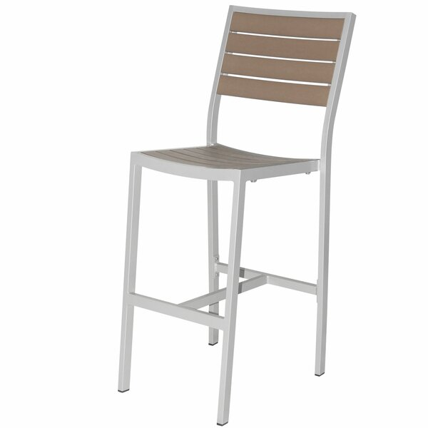 Napa Bar Stacking Patio Bar Stool by Source Contract Source Contract