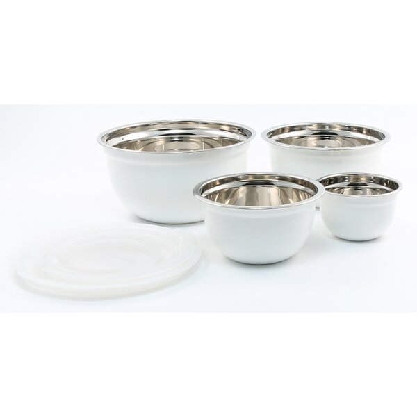 4 Piece Mixing Bowl Set by Cambridge Silversmiths