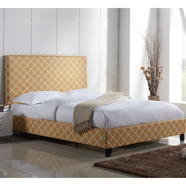 Cincinnati Upholstered Platform Bed by Charlton Home