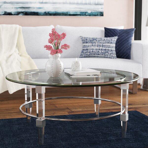 Wade Logan Glass Top Coffee Tables