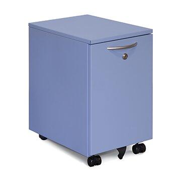 Modern Storage 2-Drawer Mobile Vertical Filing Cabinet by Rebrilliant