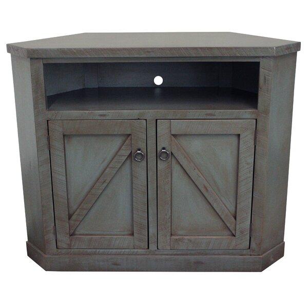 Berkley Solid Wood Corner TV Stand For TVs Up To 58