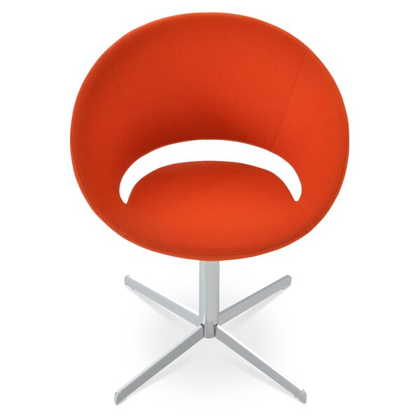 Crescent Swivel Papasan Chair By SohoConcept